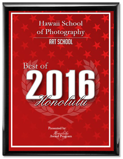 2016 Best of Honolulu Award