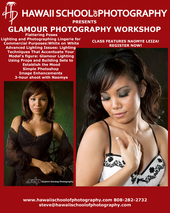 HSP Glamour promo Naomye