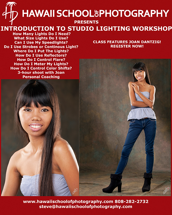 HSP Joan Intro to Studio Lighting
