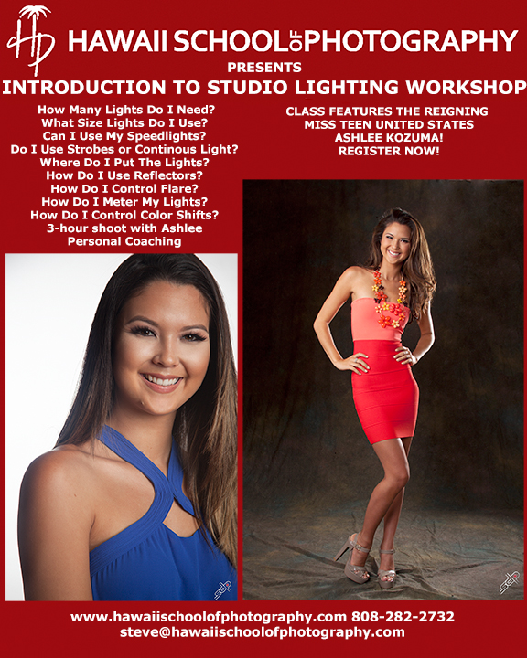 HSP Intro to Studio Lighting Ashlee