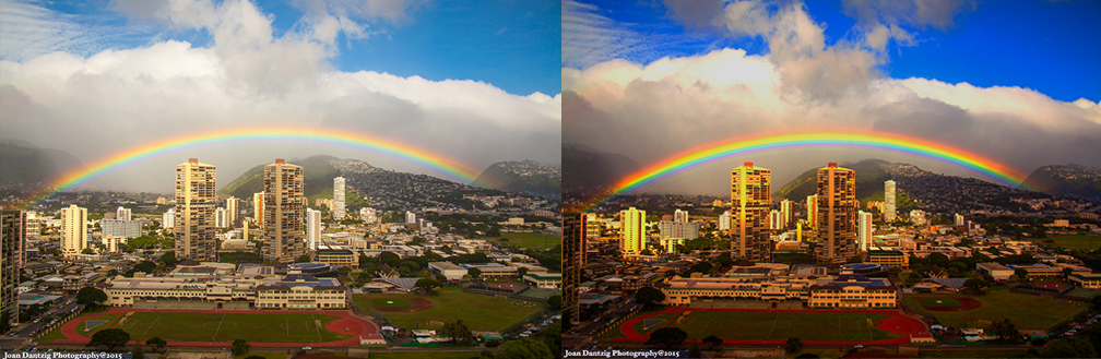 Rainbow composite